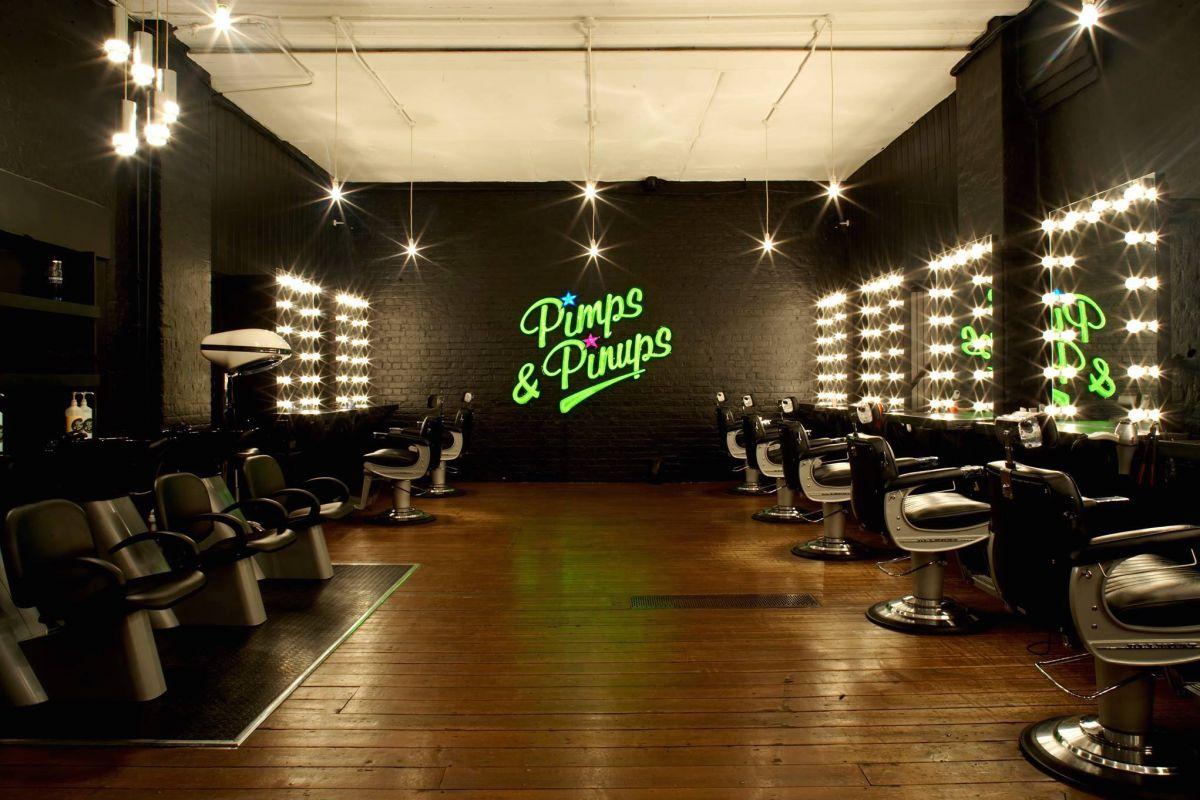 Pimps pinups shoreditch hair salon 14 lamb street for Hair salon shoreditch