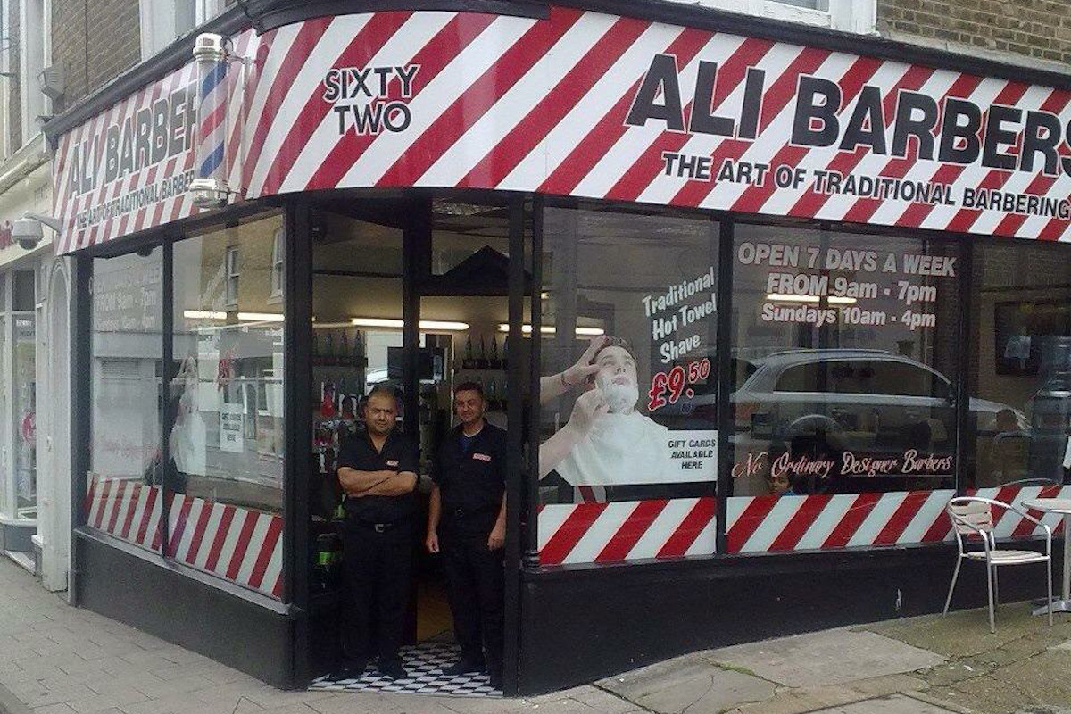 Ali Barbers Ramsgate Hair Salon 62 Queens Street