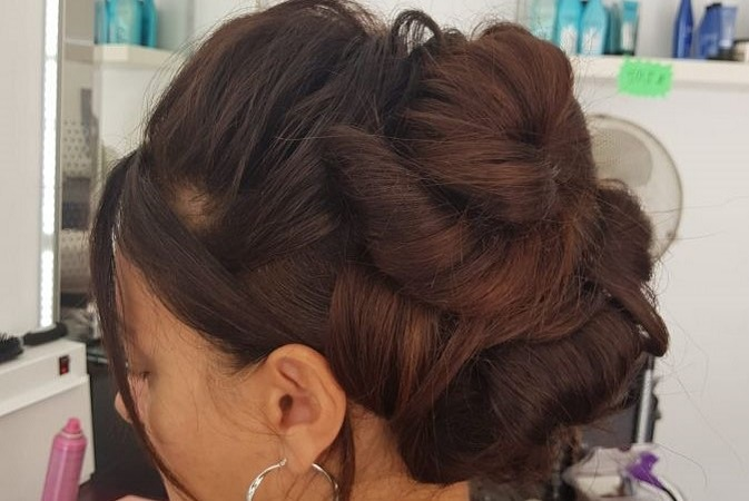 Hair up  Hair up can be for weddings,evenings out,parties,anniversary, events